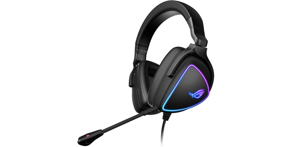 ASUS ROG Delta S Gaming Headset with USB-C | Ai Powered Noise-Canceling Microphone | Over-Ear Headphones