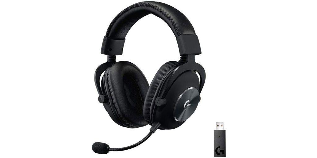 Logitech G PRO X Wireless Lightspeed Gaming Headset with Blue VO!CE Mic Filter Tech