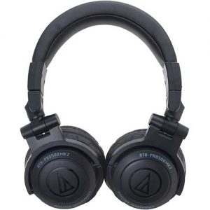 Audio-Technica-ATH-PRO500MK2BK-Professional-DJ-Monitor-Headphones-2
